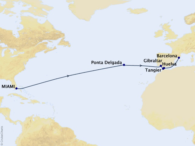 16-night Three Continents Crossing Voyage